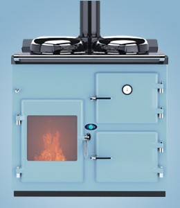 Thornhill Range Cookers 2 Oven Wood