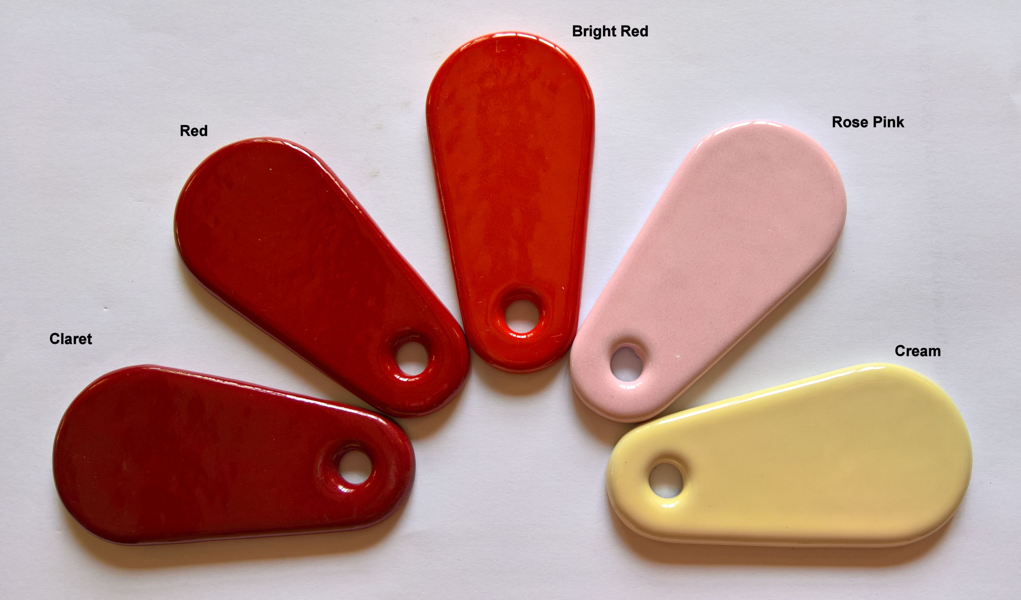 AGA Colours - Reds
