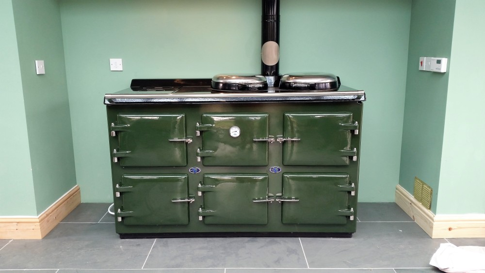 AGA British Raceing Green