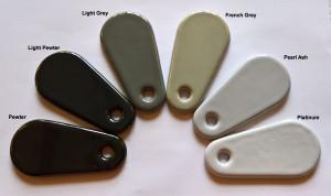 AGA Colours - Greys
