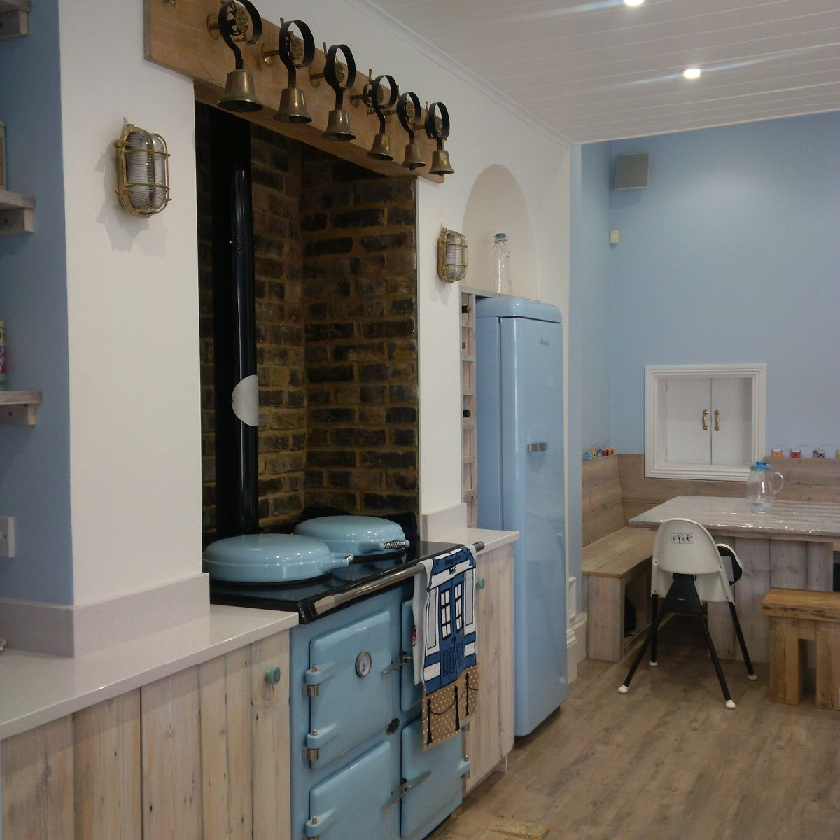 AGA Cookers duck egg blue